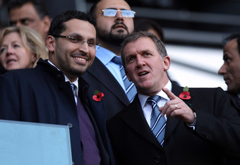 Manchester City FC executives. Mega-rich investors won't have it easy in the future