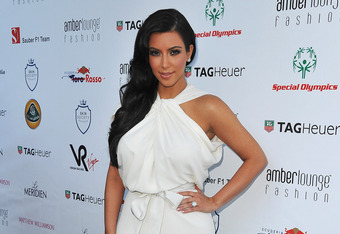 MONACO - MAY 27:  Kim Kardashian arrives to attend the AmberLounge Fashion Monaco 2011 on May 27, 2011 in Monaco.  (Photo by Pascal Le Segretain/Getty Images)