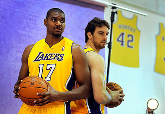 Will both big men be with the Lakers after the March 15 trade deadline?