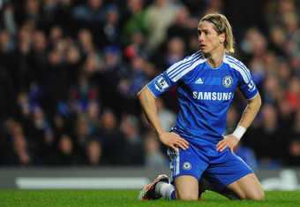 Fernando Torres is currently a flop at Chelsea.