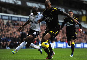 Defoe has extended his involvement in games beyond just looking to score goals.