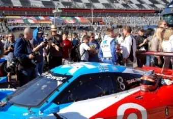 A record crowd attended the 50th anniversary of the Rolex 24 at Daytona