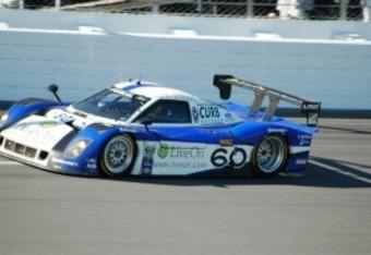The winning Rolex 24 at Daytona No. 60 Michael Shank Racing Ford Riley