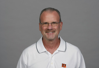 CINCINNATI, OH - CIRCA 2011: In this handout image provided by the NFL,  Kevin Coyle of the Cincinnati Bengals poses for his NFL headshot circa 2011 in Cincinnati, Ohio.  (Photo by NFL via Getty Images)