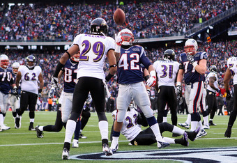 Green-Ellis finds paydirt in the AFC Championship game.