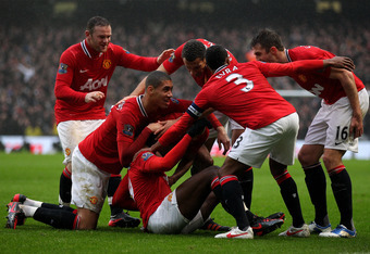 United have scored 21 away goals in this EPL season