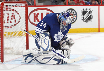 James Reimer recorded his second straight shutout