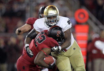 Louis Nix and Notre Dame's young defensive line have become the team's biggest strength.