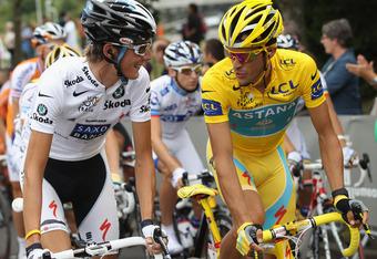 Andy Schleck now replaces Contador as 2010 Tour De France winner