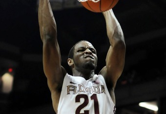 Michael Snaer is the Noles top scoring option, averaging 13.8 ppg.