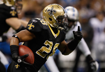Mark Ingram's success was fueled with help from William Vlachos.