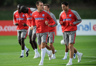 "John Terry and Frank Lampard are part of England's ""Golden Generation"""