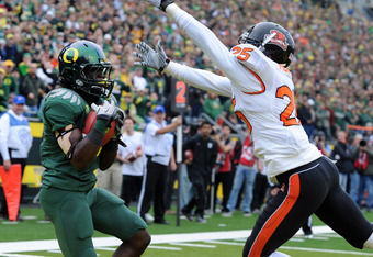 De'Anthony Thomas and the endzone should be an ongoing reunion in 2012.