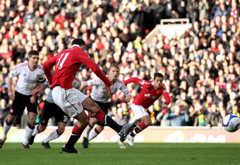 Ryan Giggs scored an early penalty to win an FA Cup in 2011. This same match saw Kenny Dalglish return to Liverpool