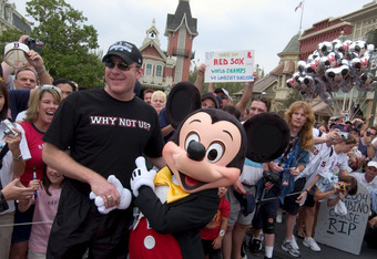 Mickey Mouse is much better at congratulating championship teams than owning them.