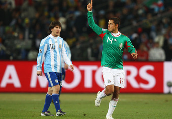 Chicharito was Mexico's best player at the 2010 World Cup
