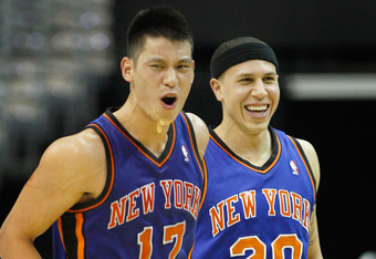 Lin will look to continue New York's winning streak on Friday.