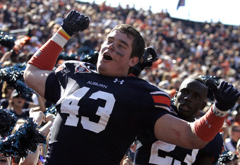 Phillip Lutzenkirchen exemplifies the importance of the tight end position for Auburn.