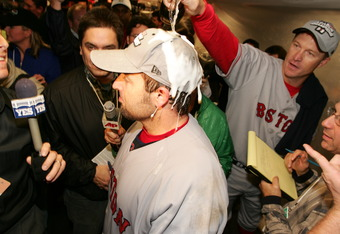In spite of admittedly drinking before games Kevin Millar was a hero of the 2004 postseason.