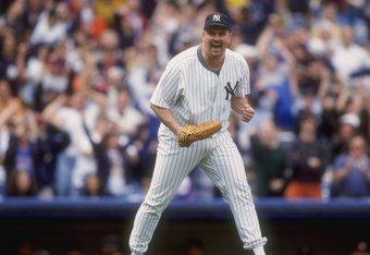 David Wells may have been hungover or still even a bit tipsy while celebrating his perfect game in 1998.