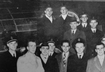Harvard Archives Photo of the 1946 squad published on thecrimson.com on 11/11/11
