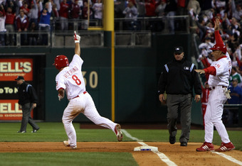 Victorino's Grand Slam indicated the Phillies were real title contenders in 2008