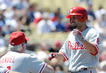 Charlie Manuel's lineup would be more solidified with Shane Victorino in it for the long run