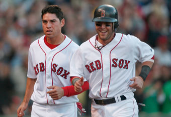 Jacoby Ellsbury and Dustin Pedroia