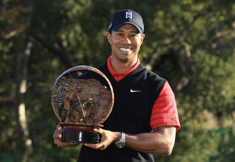 Tiger won the Chevron World Challenge in December