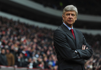 Arsene Wenger, many Gooners' object of wrath.