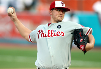 At one point, the Phillies had won 14 consecutive games in Worley's starts