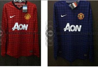 Man Utd's kits for 2012-13