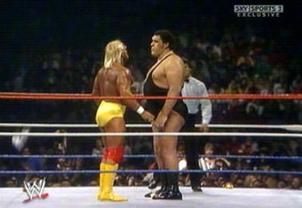 Hulk Hogan Vs. Andre The Giant at Wrestlemania 3