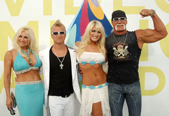 The Family: Linda, Nick, Brooke, and Hulk Hogan