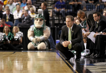 Izzo is an offensive genius, but his Michigan State squad has struggled to score this season.