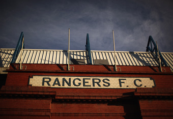 GLASGOW, SCOTLAND - FEBRUARY 15:  A general view of brox Stadium on February 15, 2012 in Glasgow, Scotland. The Clydesdale Bank Premier League club entered administration yesterday over an unpaid tax bill of 9 million GBP..  (Photo by Jeff J Mitchell/Gett
