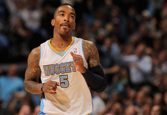 Former Denver Nugget J.R. Smith has just committed to the New York Knicks