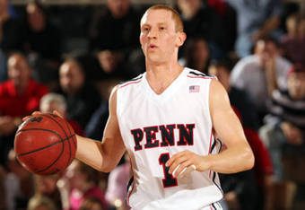 Zack Rosen scored 17 of his 25 points in the second half to give Penn the victory.