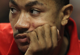 Derrick Rose, sidelined by back spasms, would had benefitted from an extra day off or two.