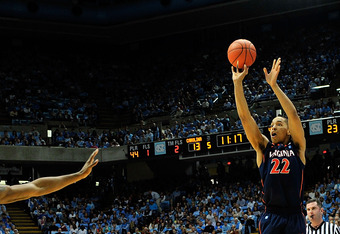 Malcolm Brogdon had his ACC-high with 14 points, including 2-2 from beyond the arc.