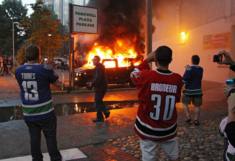 The Vancouver riot: Sports at their worst