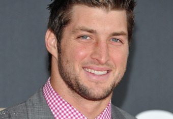 INDIANAPOLIS, IN - FEBRUARY 04:  Tim Tebow of the Denver Broncos attends NFL Honors And Pepsi Rookie Of The Year at Murat Theatre on February 4, 2012 in Indianapolis, Indiana.  (Photo by Mike Coppola/Getty Images for Pepsi)