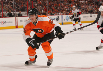 The Flyers may be without Carle next season anyway.