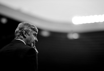 Arsene Wenger, by popular opinion, is now at the end of his tether.