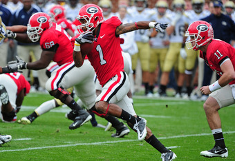 Smith's agile running ability should be on display every time Georgia returns a kick or punt.