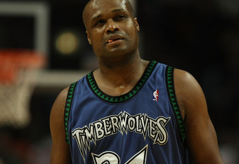 CHICAGO - JANUARY 29:  Antoine Walker #24 of the Minnesota Timberwolves walks up the court after being called for a foul against the Chicago Bulls January 29, 2008 at the United Center in Chicago, Illinois. NOTE TO USER: User expressly acknowledges and ag