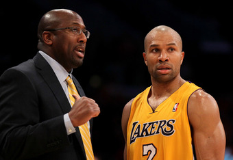 Mike Brown and Derek Fisher