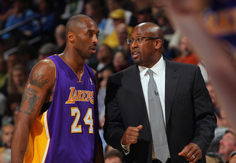 Kobe Disagreeing with Mike Brown