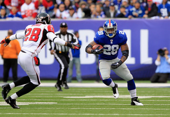 Brandon Jacobs may not be anyone's favorite, but DJ Ware is a relative unknown.
