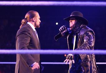 "If there is any match that deserves to be exempt from the ""no blood"" rule, it's Triple H vs. Undertaker at WrestleMania"
